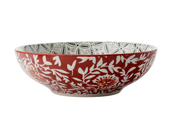 MW Boho Coupe Bowl Batik Grey 18cm