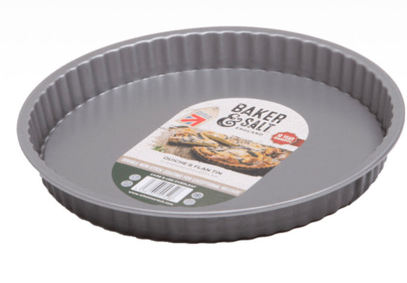 Baker & Salt® Non-Stick Quiche/Flan Tin