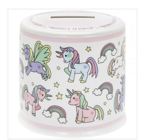 Unicorn Ceramic Money Bank