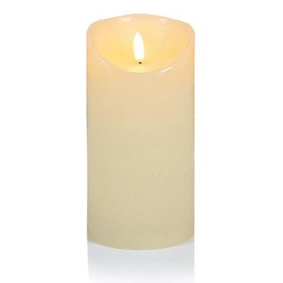 18X9CM CREAM FLICKERBRIGHT Candle