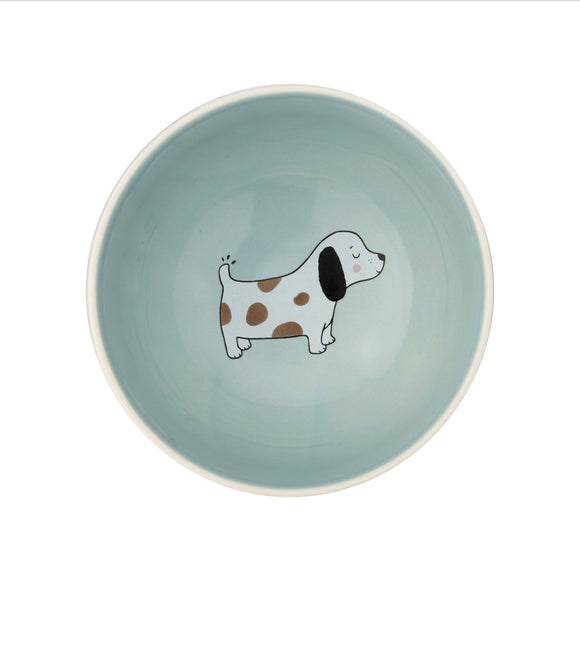 SASS & BELLE  BARNEY THE DOG BOWL
