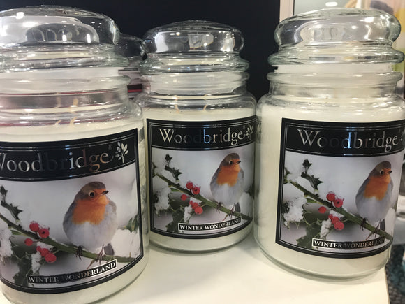 Woodbridge Winter Wonderland Candle