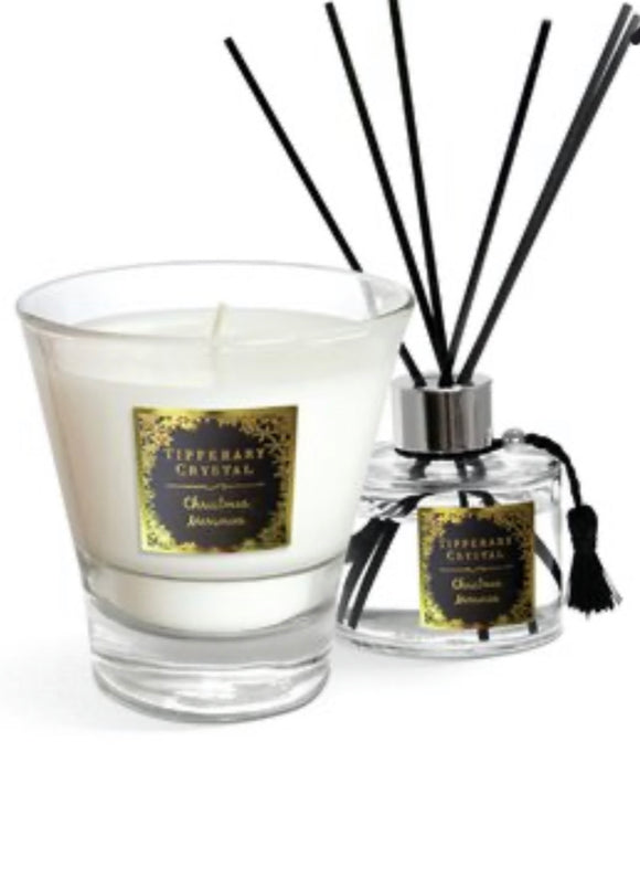 Tipperary Crystal Candle and Diffuser set - Christmas Memories