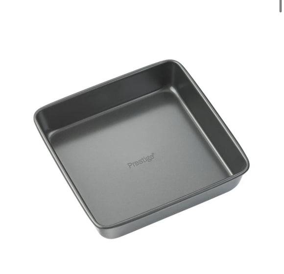 Easy Release Solid Base Square Cake Tin - 8