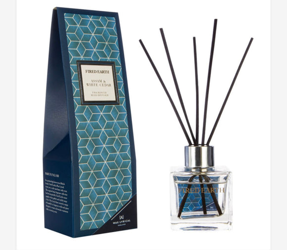 Wax Lyrical - Assam & White Cedar 100ml Reed Diffuser