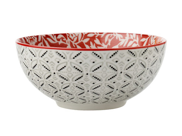 MW Boho Bowl Damask Red 12.5cm