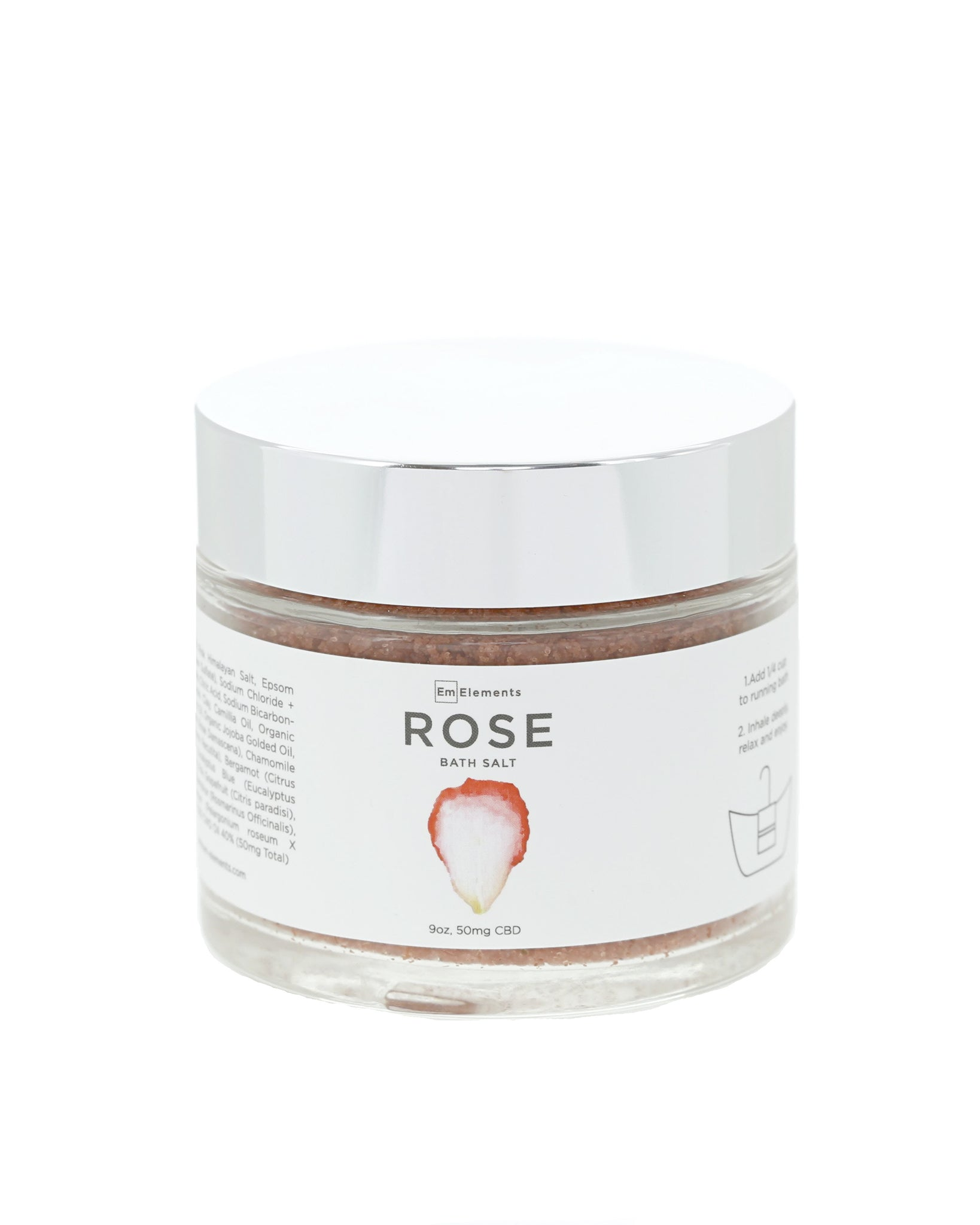 7fabba3ae6c02 Rose Bath Soak – Em Elements