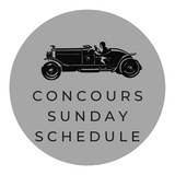 Pebble Beach Concours Sunday Schedule
