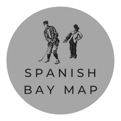 Pebble Beach Concours Spanish Bay Map