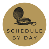 Pebble Beach Concours Schedule by Day