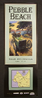 2005 Pebble Beach Tour d'Elegance Poster