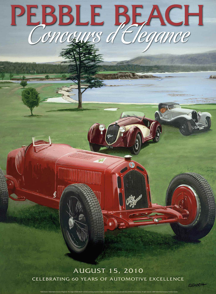 2010 Pebble Beach Concours d'Elegance Program