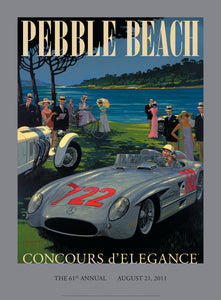 2011 Pebble Beach Concours d'Elegance Program