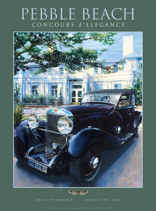2012 Pebble Beach Concours d'Elegance Program