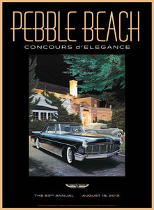 2013 Pebble Beach Concours d'Elegance Program