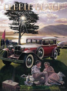 2014 Pebble Beach Concours d'Elegance Program