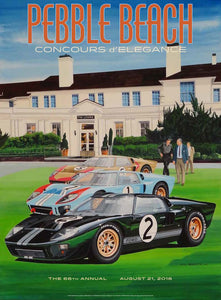 2016 Pebble Beach Concours d'Elegance Program