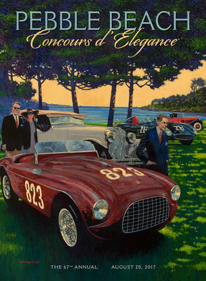 2017 Pebble Beach Concours d'Elegance Program