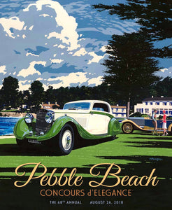 2018 Pebble Beach Concours d'Elegance Program