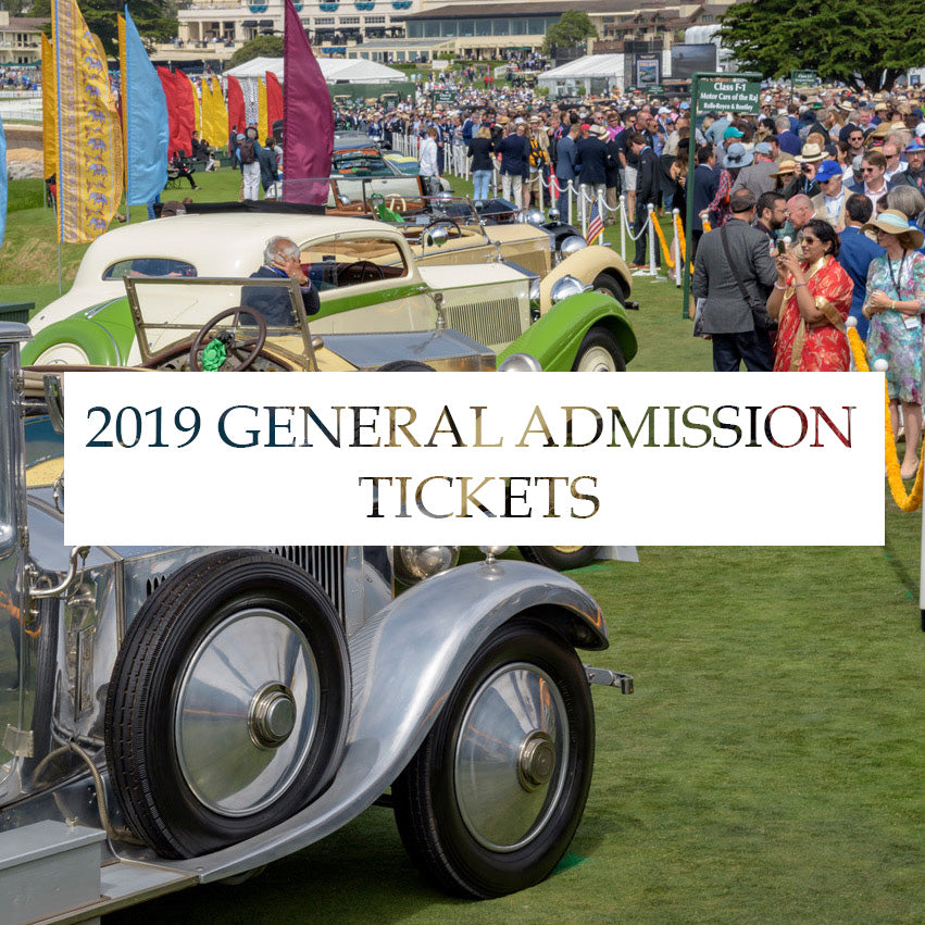 2019 General Admission Tickets