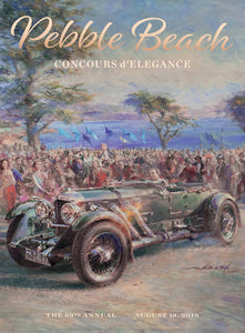 2019 Pebble Beach Concours d'Elegance Program