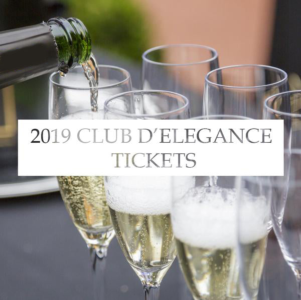 2019 Club d'Elegance Tickets