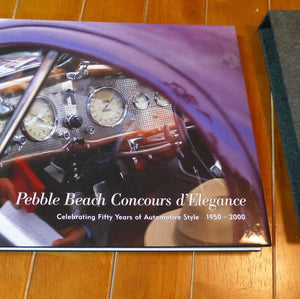 Pebble Beach Concours 50th Anniversary Book - Deluxe Edition