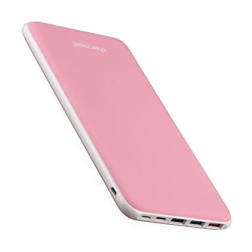 26800mAh Power Bank Quick Charge Portable Charger USB Type C Battery Pack with 3 Input & 4 Output for MacBook Nintendo Switch Nexus iPhone Samsung Sony (Pink)