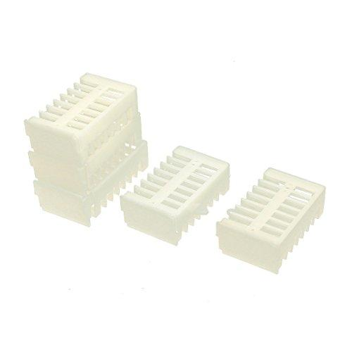 uxcell Plastic Queen Bee Cage Match-box Moving Catcher Beekeeping Tool 5pcs
