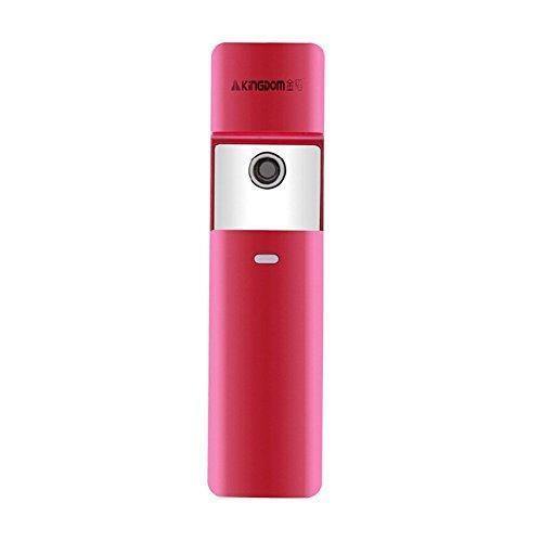Morjava Mj-777 USB Nano Portable Facial Steamers Whitening Moisturizing Replenishing Face Soothes&calm Skin Wrinkle Reduction (PINK)