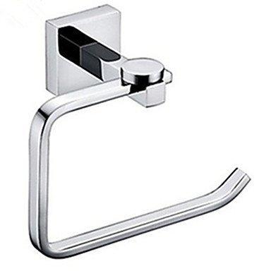 NAERFB Toilet paper holder toilet paper holder bathroom accessories of contemporary brass chrome wall mounting