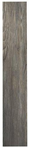 Achim Home Furnishings VFP2.0SS10 3-Foot by 6-Inch Tivoli II Vinyl Floor Planks, Spruce Silver, 10-Pack