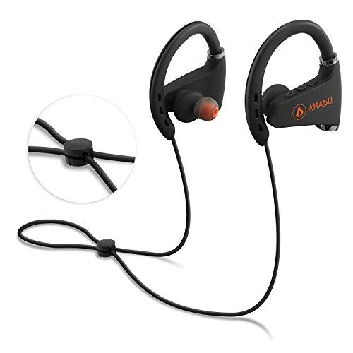 a5d49566c7d AHADU Bluetooth Headphones, 2018 Upgraded Best Wireless Sports Earphones,  Sweat-proof Noise Cancelling