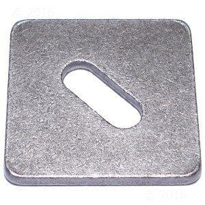 Hard-to-Find Fastener 014973174699 x 3 x 1/4 EQ Code Square Washers (16 Piece), 1/2 x 3""