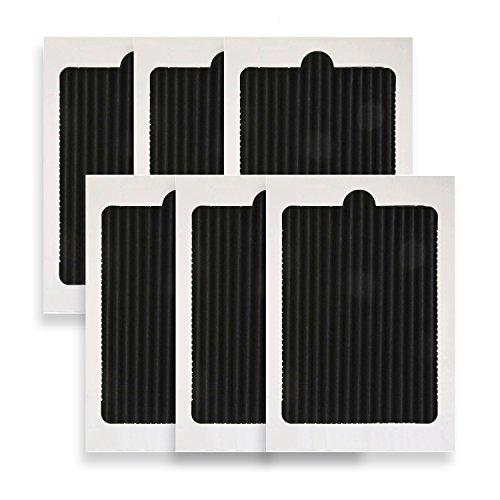 Waterdrop PAULTRA Refrigerator Air Filter Replacement for EAFCBF, PAULTRA, SCPUREAIR2PK, 242047801, 242061001, 241754001 (6 Pack)