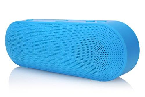 2BOOM Boom Go Wireless Bluetooth Portable Speaker with Built-In Microphone  - Blue