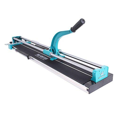 Happybuy 40 Inch Manual Tile Cutter Professional Porcelain Ceramic Floor Tile Cutter Machine Adjustable Laser Guide for Precision Cutting