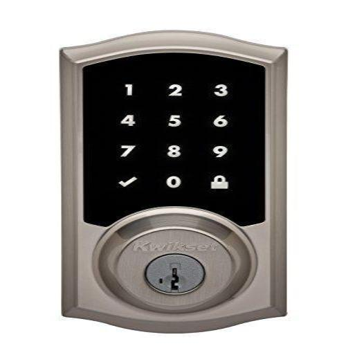 Kwikset Premis Touchscreen Smart Lock, Works with Apple HomeKit via Apple TV