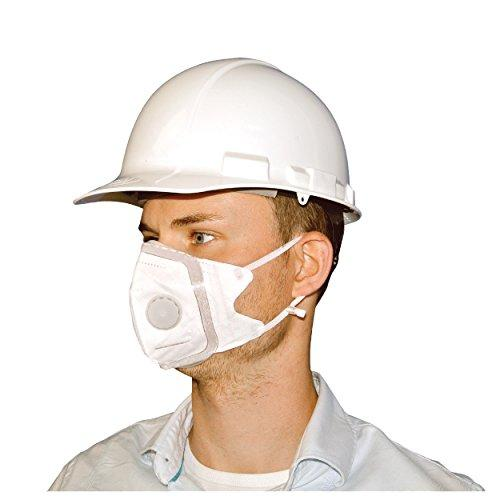 SoftSeal Respirator V-Fold Mask with Valve, Large, 3-pack