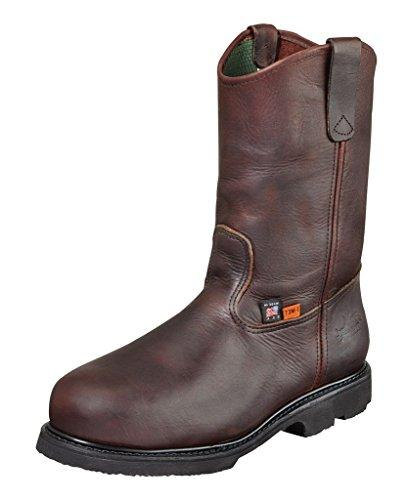 Thorogood Work Boots Mens Safety Steel Toe 9 3E Black Walnut 804-4841