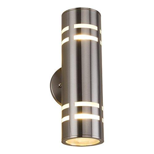 Outdoor Wall Light Naturous Plt01 Waterproof Cylinder Porch Light Modern Outdoor Lighting Wall Sconce Ul Listed Stainless Steel 304 Suitable For