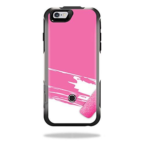 MightySkins Protective Vinyl Skin Decal for OtterBox Resurgence iPhone 6 Power Case wrap cover sticker skins Pink Paint Roller