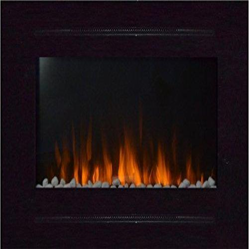 Touchstone 80006 Forte In-Wall Recessed Electric Fireplace, 40 Inch Wide