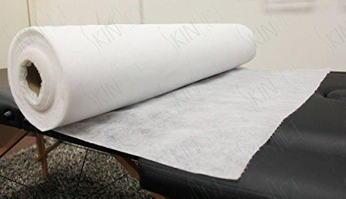 "Skin Act Jumbo Size Nonwoven Disposable Bedsheet (31"" Wide X 354 Feet Long) Perforated Massage Table Sheet, Facial, Wax Chair Cover Sheet"