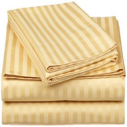 100% Egyptian Cotton 650 Thread Count Olympic Queen 4-Piece Sheet Set