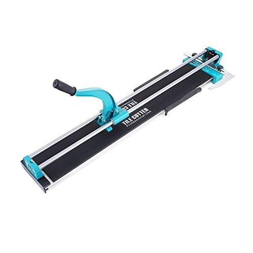 TOTOOL 40 Inch Manual Tile Cutter Professional Ceramic Tile Cutter with Solid Steel Rail and Adjustable Laser Guide Floor Tile Cutter for Porcelain and Ceramic Tiles (40 Inch)