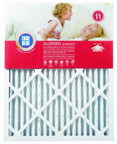 True Blue Allergen 16x20x1 Air Filter , MERV 11, 4-Pack