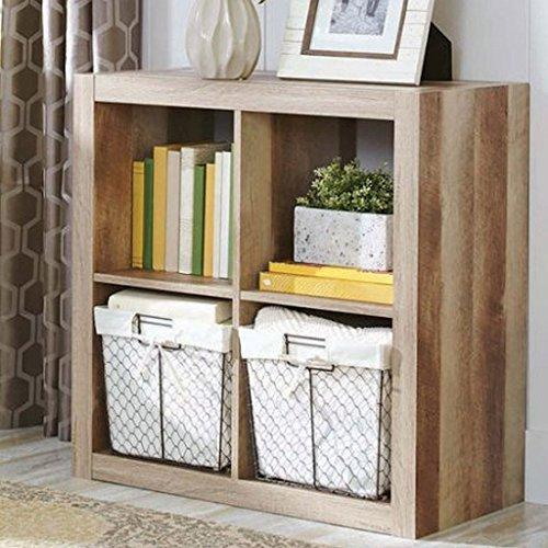 4-Cube Weathered Versatile Design Creates Multiple Storage Solutions
