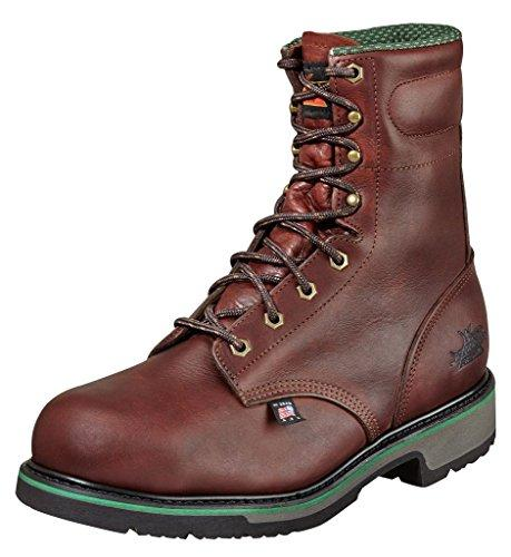 Thorogood Work Boots Mens SD Type Steel Toe 7 D Black Walnut 804-4721