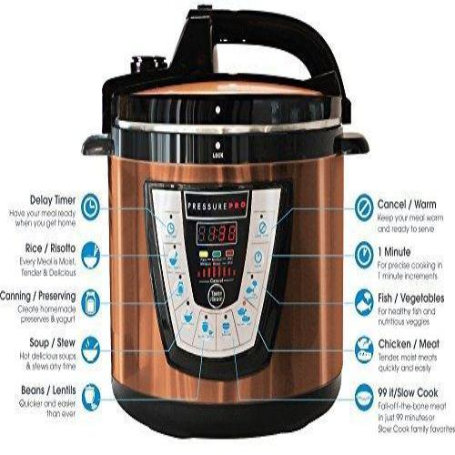 10-in-1 Pressure Cooker - Multi-Use Programmable Pressure Cooker